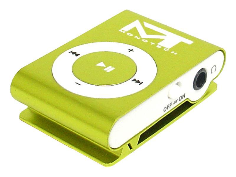Přehrávač MP3 MonoTech zelená