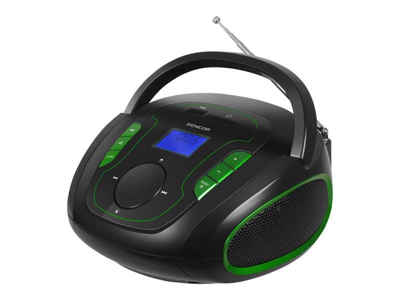 Radiopřijímač s USB/MP3 SENCOR SRD 230 BGN