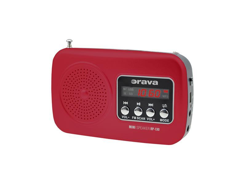 Přenosný radiopřijímač ORAVA RP-130 R SHcz