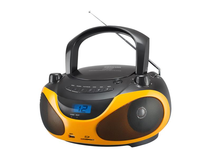 Rádio s CD/MP3 SENCOR SPT 228 BO