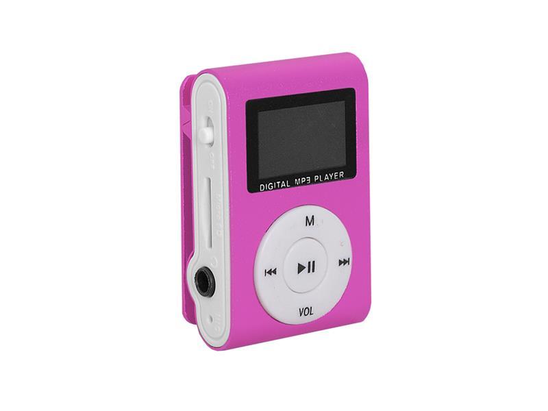 Přehrávač MP3 SETTY LCD růžová