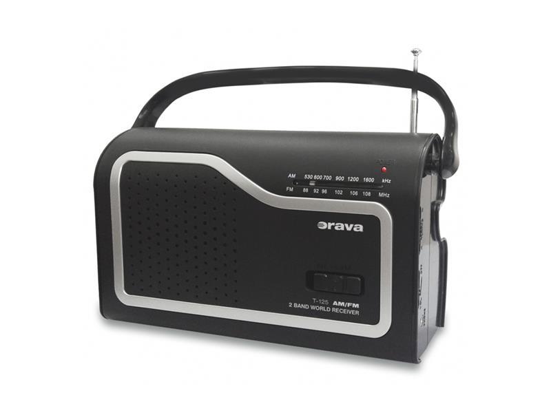 ORAVA T-125 Přenosný rádio přijímač