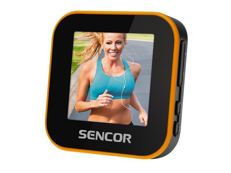 SFP 6070 SPORT CLIP 8GB MP3/MP4 SENCOR
