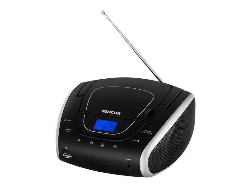 Radiopřijímač SENCOR SPT 1600 BS s CD/MP3/USB