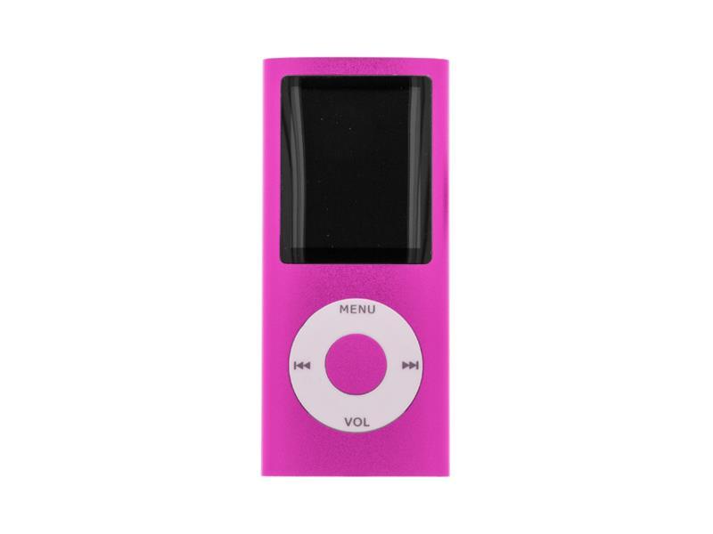 Přehrávač MP3/MP4 SETTY růžový