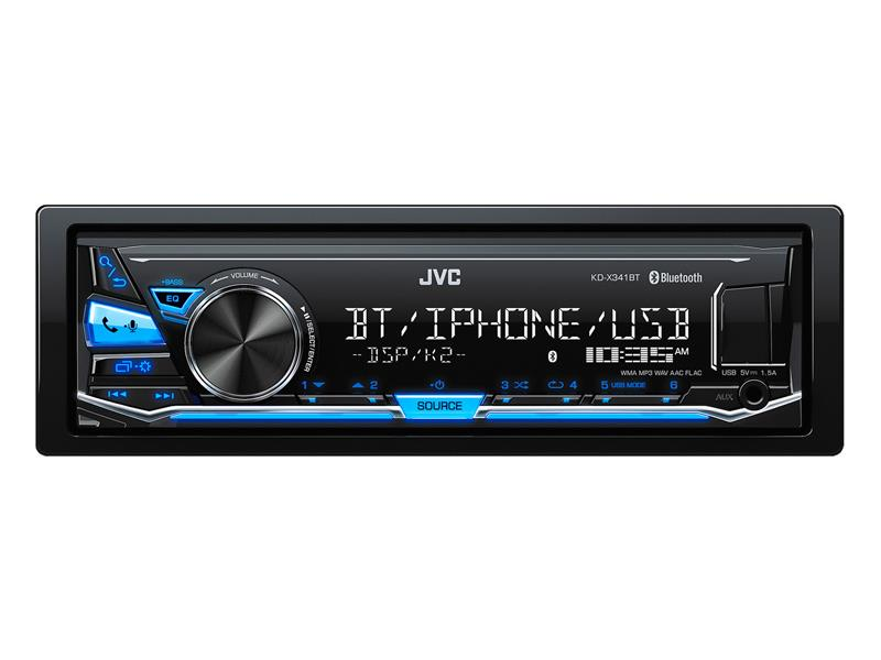 Autorádio JVC S BT/USB/MP3 KD-X341BT