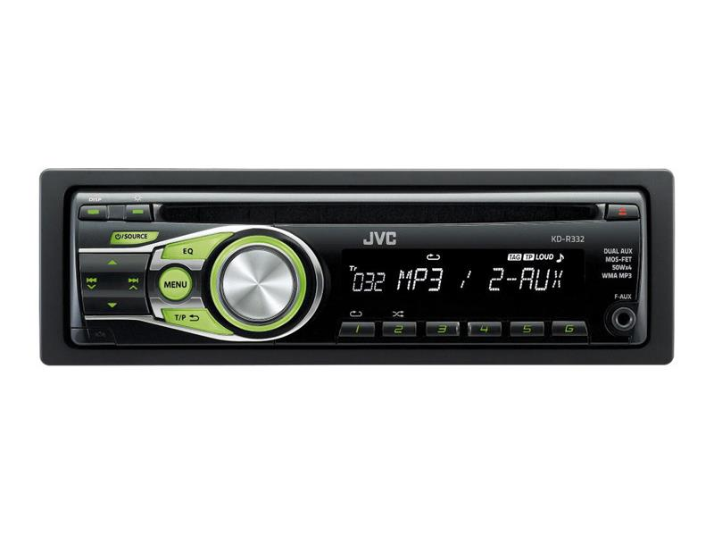 Autorádio JVC CD/MP3 KD R332