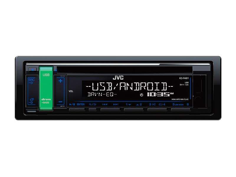 Autorádio JVC S CD/MP3/USB KD-R481