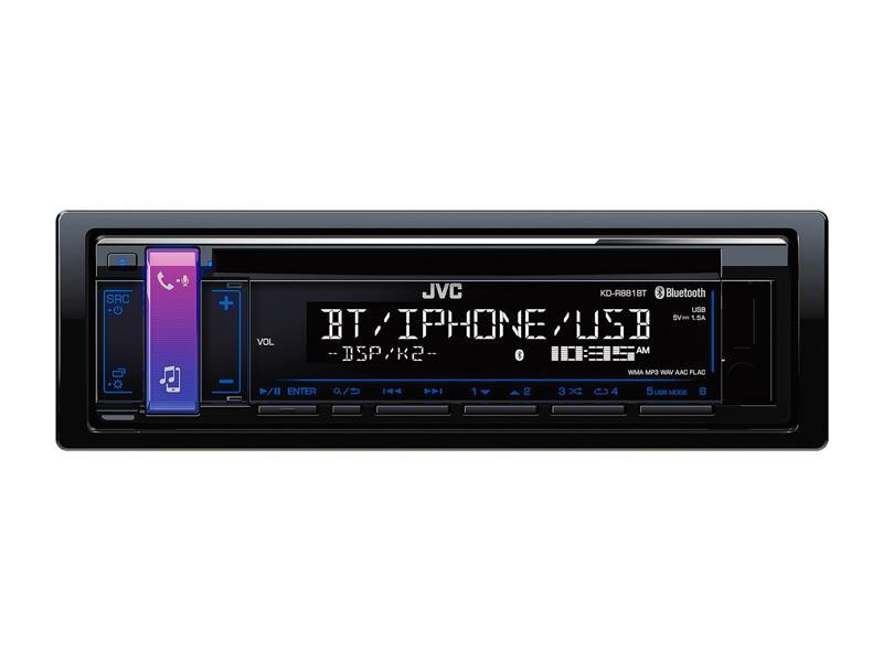 Autorádio JVC CD/MP3/BT KD-R881BT