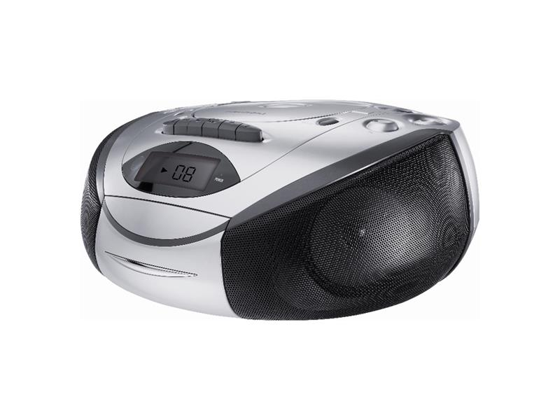 Rádio s CD/MP3/USB/SD/MMC GRUNDIG RRCD 3720 DEC silver/black
