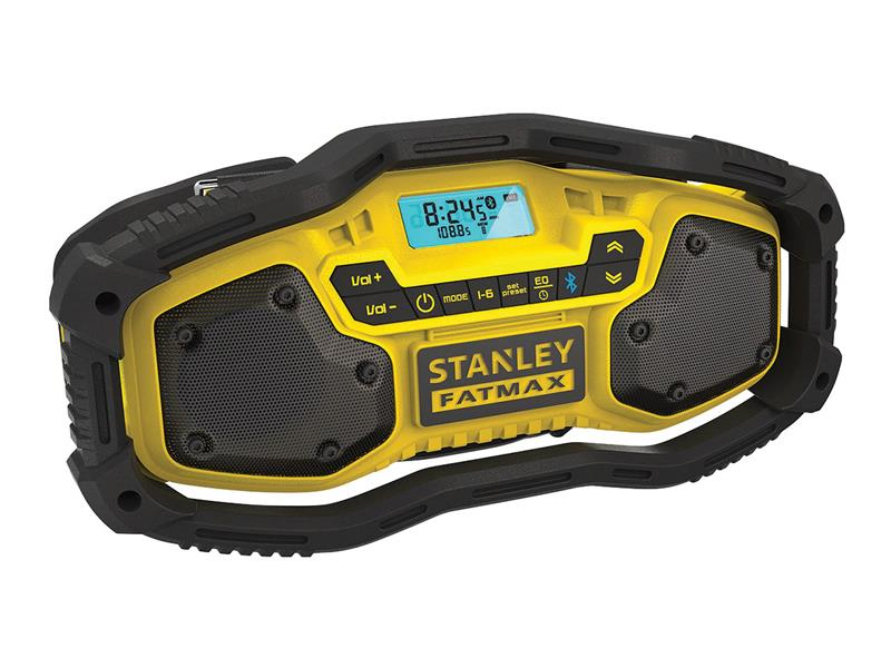 Rádio outdoorové AKU BLUETOOTH STANLEY FATMAX FMC770B bez akumulátoru
