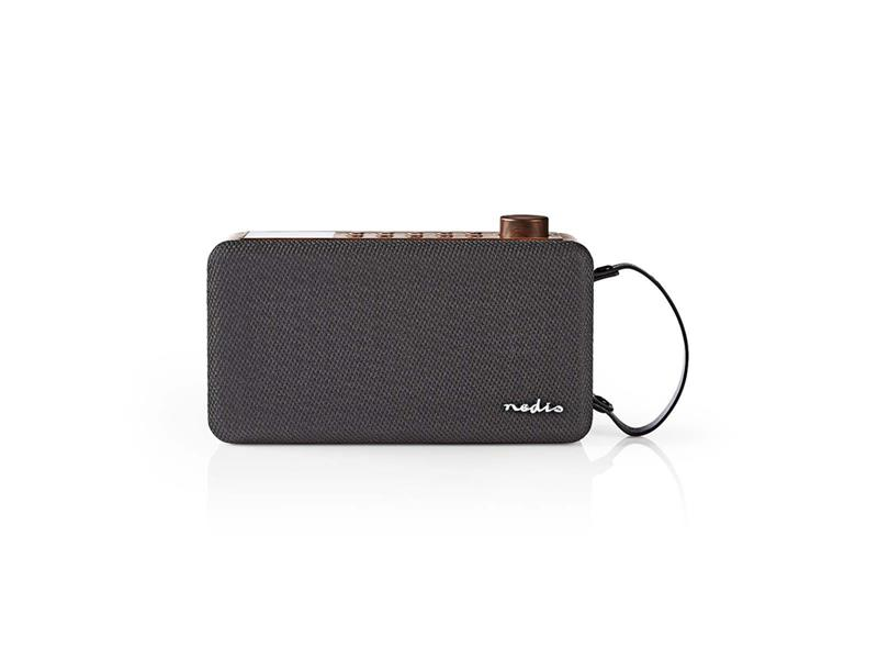 Rádio FM / DAB+ / BLUETOOTH NEDIS RDDB4300BN BROWN / BLACK