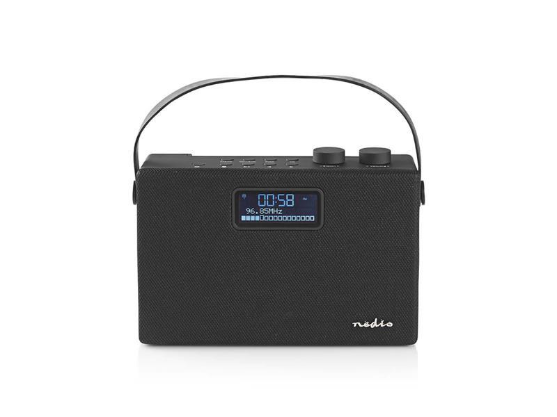 Rádio FM / DAB+ / BLUETOOTH NEDIS RDDB4320BK BLACK