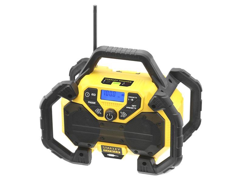 Rádio outdoorové AKU STANLEY FATMAX FMCR001B bez akumulátoru