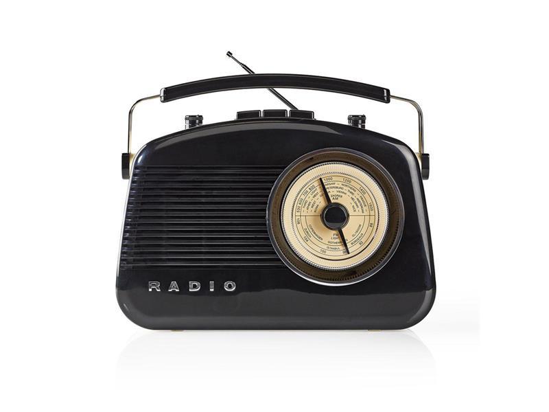 Rádio NEDIS RDFM5010BK BLACK