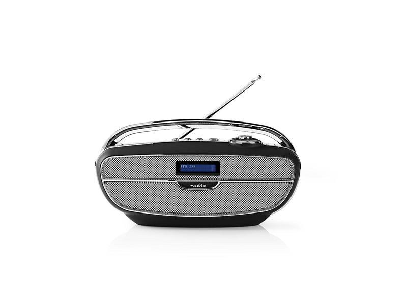 Rádio FM / DAB+ / BLUETOOTH NEDIS RDDB5310BK BLACK / SILVER