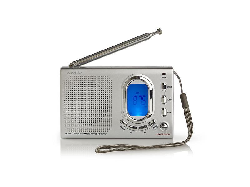 Rádio FM NEDIS RDWR1000GY