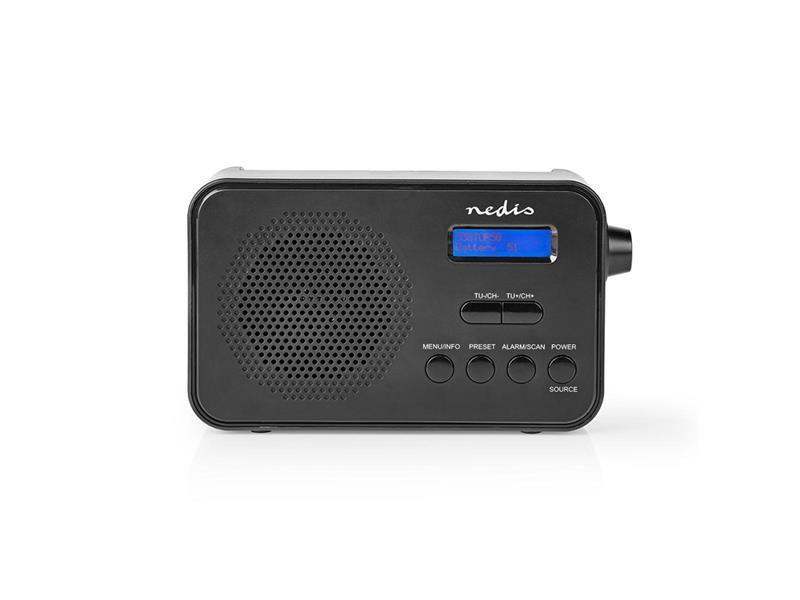 Rádio NEDIS RDDB1000BK