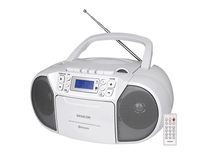 Rádio s CD/USB/BT/KAZE SENCOR SPT 3907 W