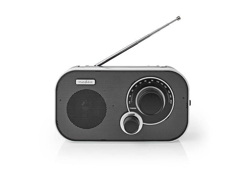 Rádio NEDIS RDFM1320SI SILVER/BLACK