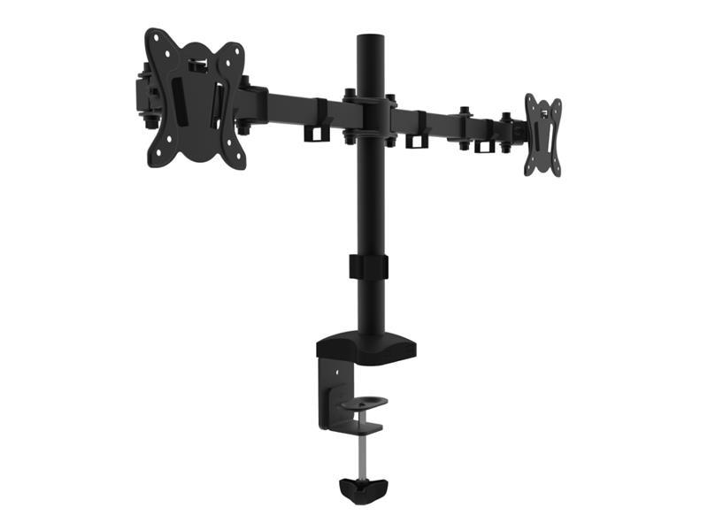 Držák pro 2 monitory CABLETECH UCH0212 stolní