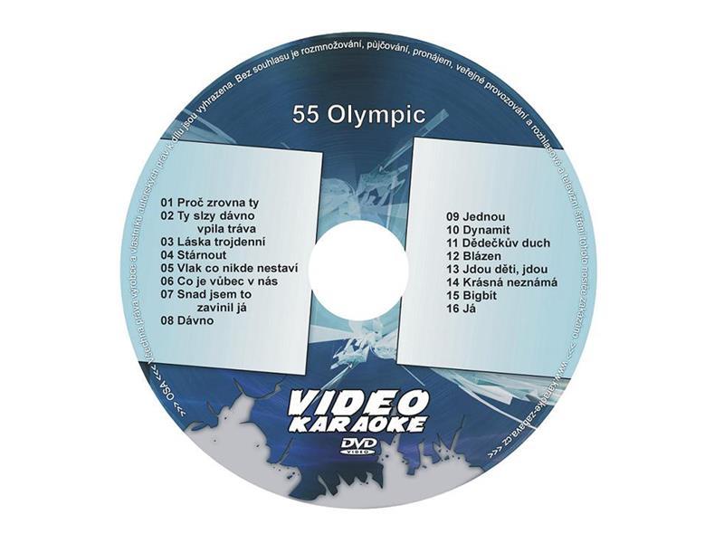 Karaoke DVD OLYMPIC