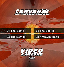 Karaoke set 4 kompilací Červeňák