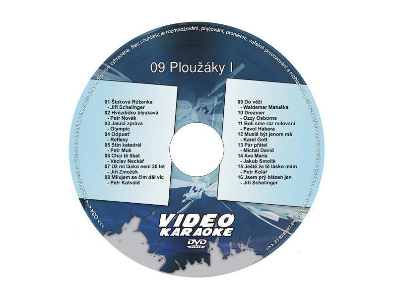 Karaoke DVD 09 Ploužáky I