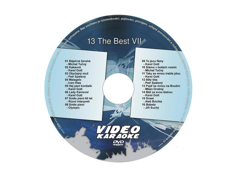 Karaoke DVD THE BEST VII