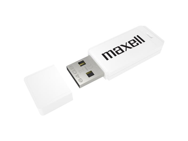 Flash disk MAXELL 64GB WHITE 854997