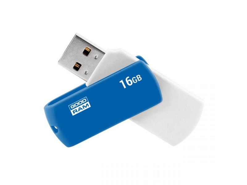 Flash disk Goodram USB 2.0 16GB bílý a modrý