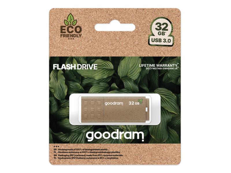 Flash disk GOODRAM USB 3.0 32GB ECO FRIENDLY