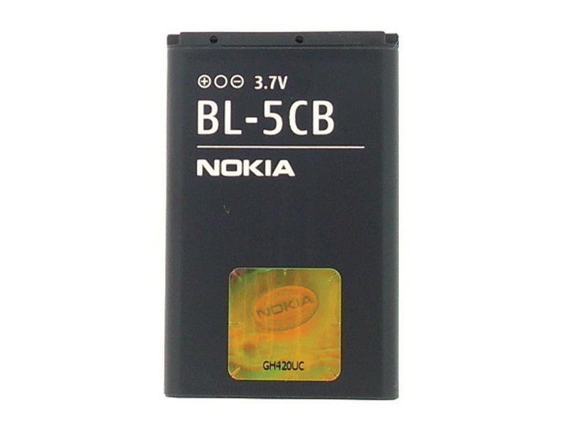 Baterie gsm NOKIA BL-5CB 800mAh originální