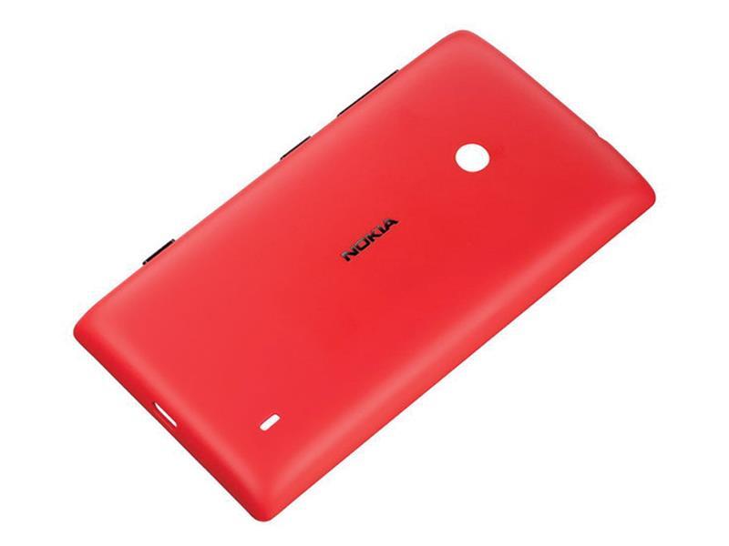 Nokia CC-3068 ochranný kryt pro Nokia Lumia 520, červená