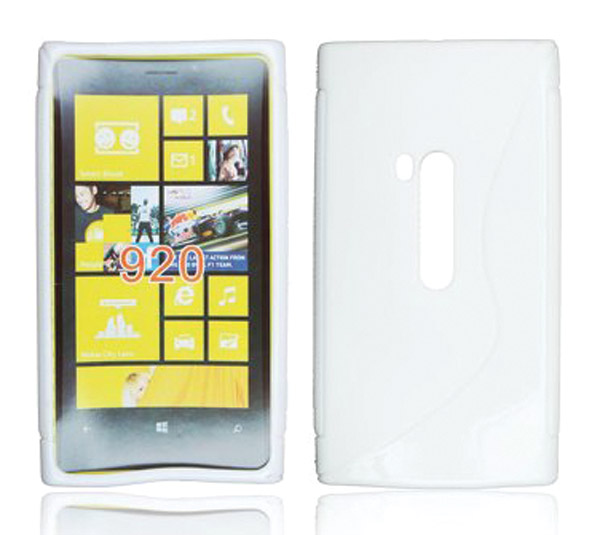 ForCell Zadní Kryt Lux S White pro Nokia Lumia 920