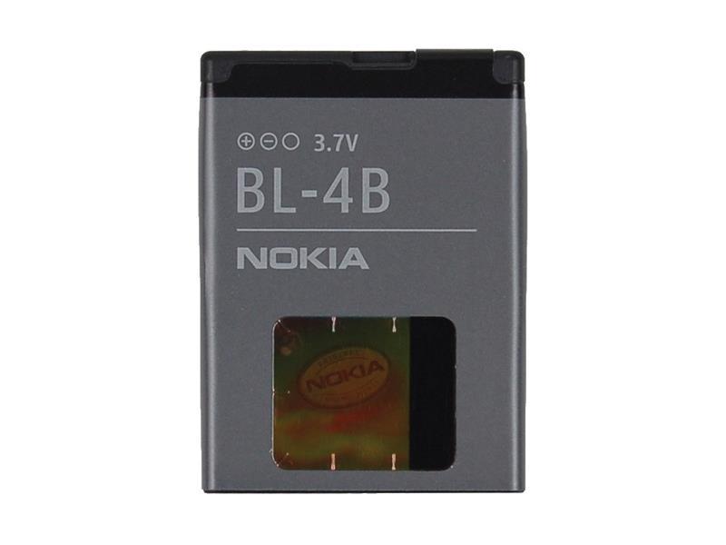 Baterie gsm NOKIA BL-4B 700mAh originální