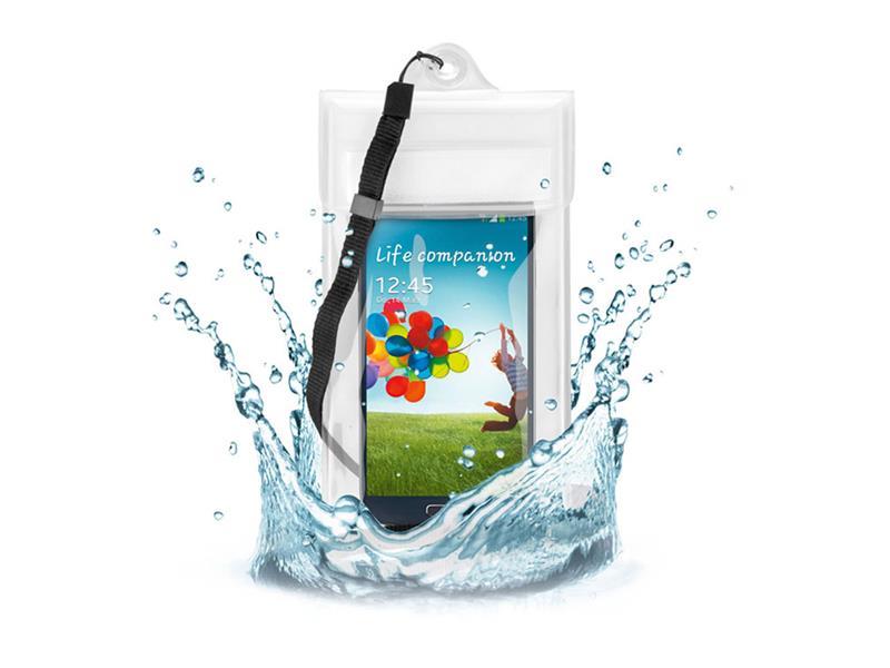 """Ochranné pouzdro na mobil proti vodě a písku Beach bag GooBay do 5"""" voděodolné do 2m"""