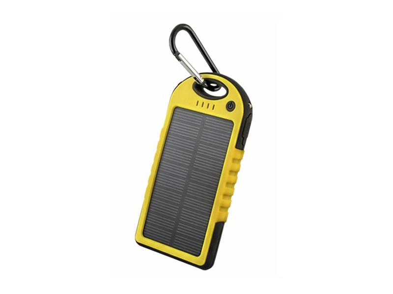 PowerBank FOREVER PB-016 5000mAh YELLOW solární