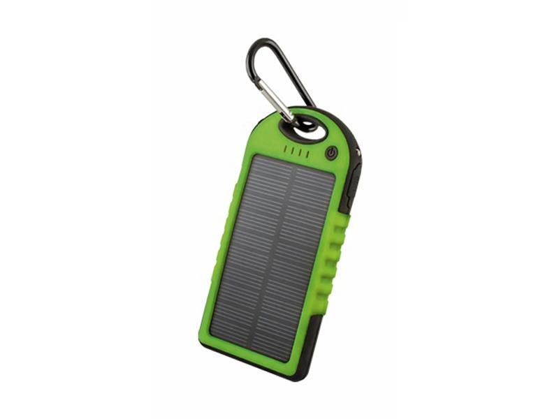 PowerBank FOREVER PB-016 5000mAh GREEN solární