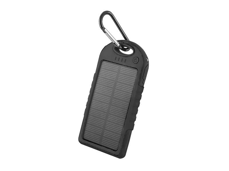 PowerBank 5000 mAh solární FOREVER PB-016 černá