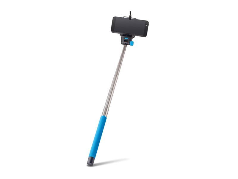 Selfie tyč FOREVER MP-300 modrá