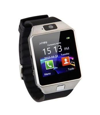 Erenbach Smartwatch DZ09 stříbrná MENU kompletně v češtině