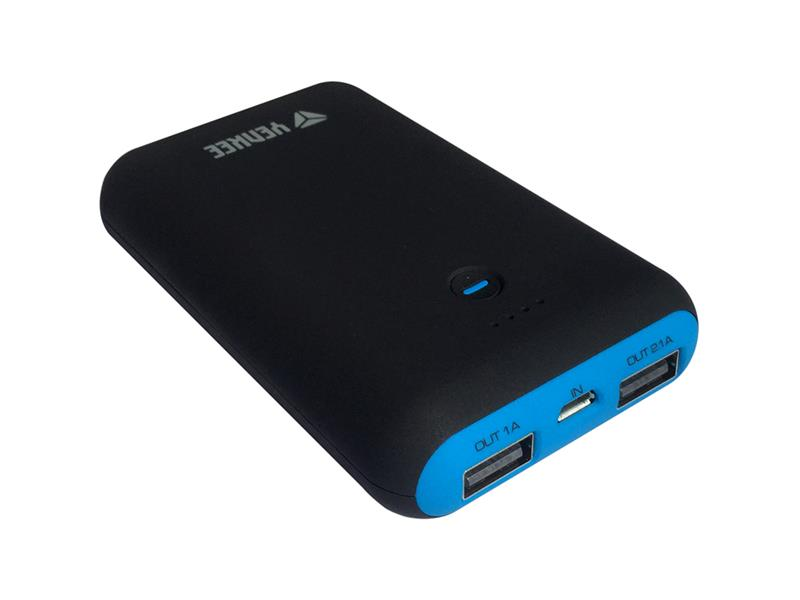 Power bank 6000mAh YENKEE YPB 0160BK