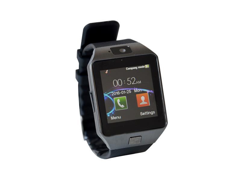 Erenbach Smartwatch DZ09 černá MENU kompletně v češtině