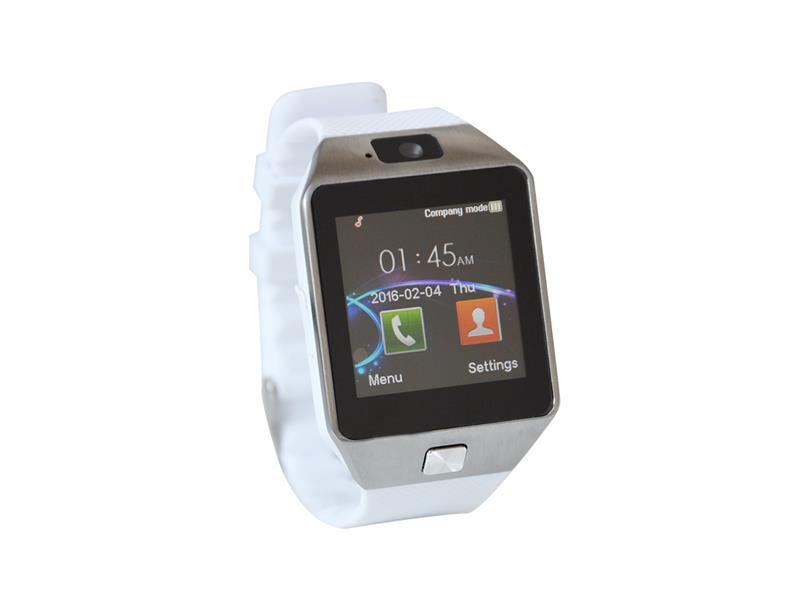 Erenbach Smartwatch DZ09 bílá MENU kompletně v češtině