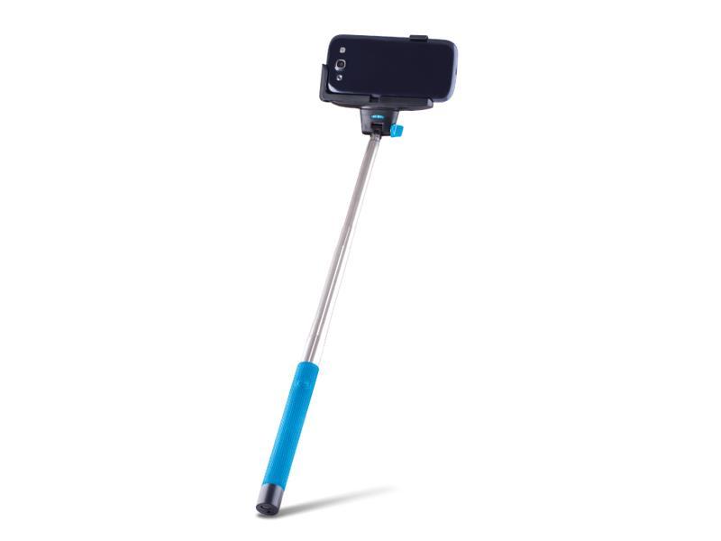 Selfie tyč se spouští BLUETOOTH FOREVER MP-100 modrá