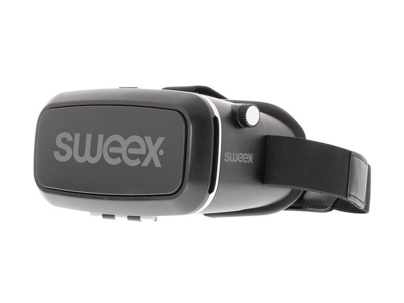 Brýle 3D pro virtuální realitu SWEEX SWVR200 4-cestné