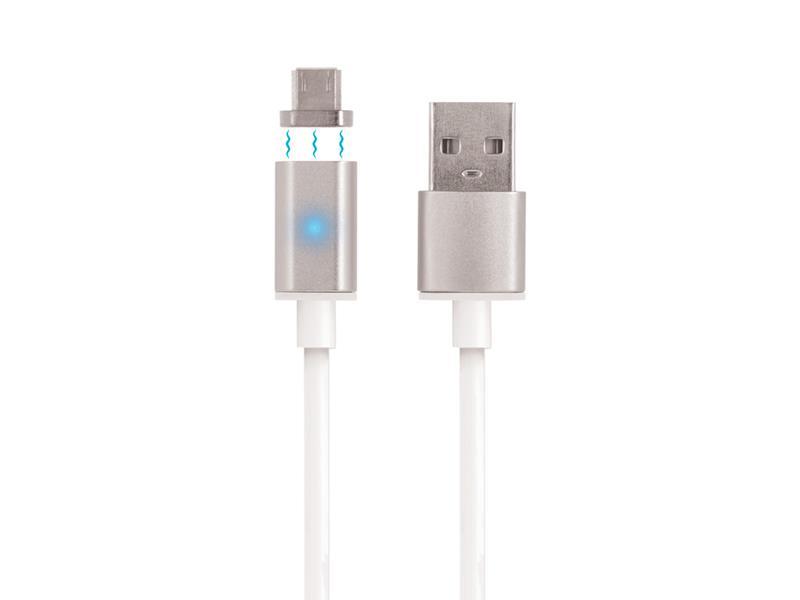 Kabel USB - Micro USB magnetický 1m FOREVER