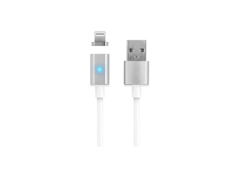 Kabel USB - Lightning IPHONE 5/6 magnetický 1m FOREVER
