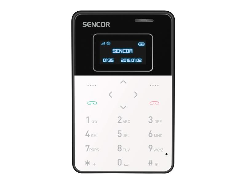 Telefon ELEMENT MINI BLACK SENCOR